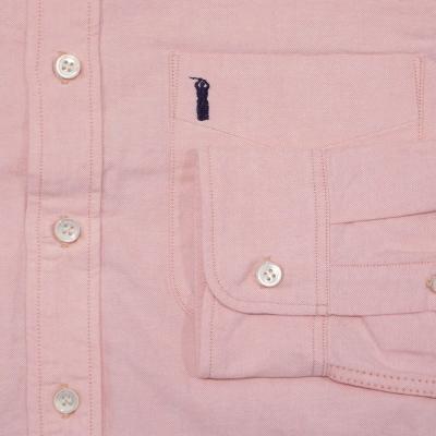 SJBD-L01-핑크-세르 오릭스 BD 셔츠 긴 소매 L01-SJBDL01-SAMURAIJEANS-사무라이 진 즈 셔츠