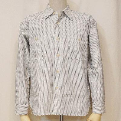 SSS15-L01-ホワイト-刺し子ワークシャツ15-L01-SSS15L01-SAMURAIJEANS-サムライジーンズシャツ【smtb-tk】【送料無料】