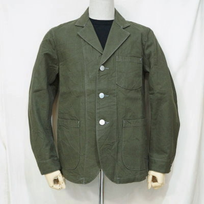SJSC19-OLV-サックジャケット19-SAMURAIJEANS-サムライジーンズジャケット【送料無料】【smtb-tk】