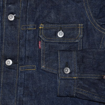 Previous preorders! S552XX21OZ-21OZ second G Jean - SAMURAIJEANIS-Samurai jeans denim jacket - G Jean - denim