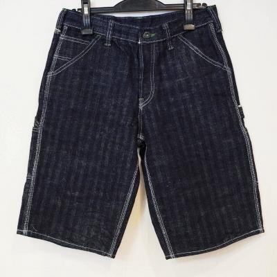 SM155DX-P- herringbone painter short pants-SM155DXP-SAMURAIJEANS-samurai jeans denim jeans samurai car club denim jeans