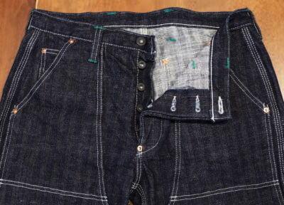 SM 510DX-P-ダブルニーワークパンツヘリンボン - SM 510DXP-SAMURAIJEANS-サムライジーンズデニムジーンズ-Samurai Automobile Club denim jeans