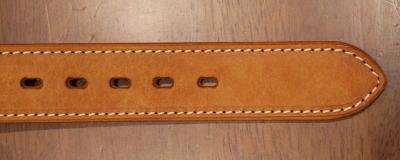 A 109HS-Pueblo leather belt - SAMURAIJEANS-Samurai jeans belt