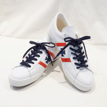 Under advance reservation acceptance! SM92LOW17-II- white - leather sneakers 17-II-SM92LOW17II-SM92LOW17-2-SM92LOW172-SAMURAIJEANS- samurai jeans sneakers