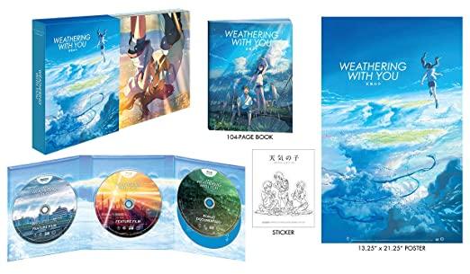 送料無料 BD 4K+2K コレクター版 DVD 2020 新作 新作送料無料 天気の子コンボパック