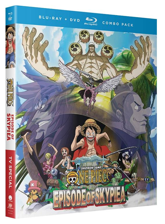 ONE PIECE エピソードオブ空島 TVスペシャルコンボパック ブルーレイ+DVDセット【Blu-ray】