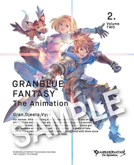送料無料 グランブルーファンタジー ジ 限定モデル アニメーション パート2 Blu-ray 送料無料激安祭 8-12話BOXセット ブルーレイ