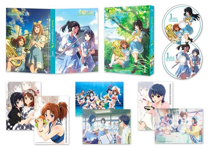 送料無料 響け ユーフォニアム2 第2期 最新アイテム Volume Blu-ray ブルーレイ 販売実績No.1 1 1-6話BOXセット