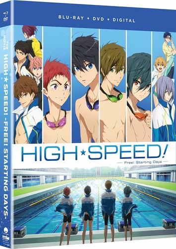 映画 ハイ☆スピード!-Free! Starting Days- 劇場版コンボパック ブルーレイ+DVDセット【Blu-ray】