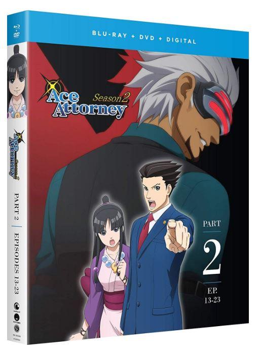 逆転裁判 ~その「真実」、異議あり!~ 第2期パート2 13-最終23話コンボパック ブルーレイ+DVDセット【Blu-ray】