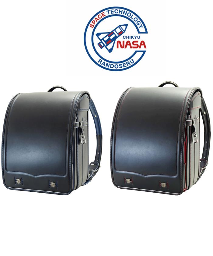 【2019年】地球NASAランドセル 6332 キューブ型 クラリーノ ランドセル男の子 フィットちゃんランドセル A4フラットファイル対応 マチ幅ワイド クロ 百貨店 新入学 人気 おしゃれ NASAランドセル