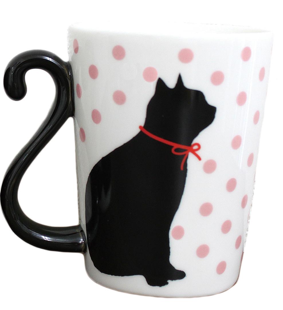 マグカップル ドット 黒猫/ドットPK 10点セット