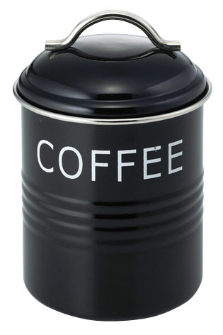 バーネット キャニスター 黒 COFFEE 10点