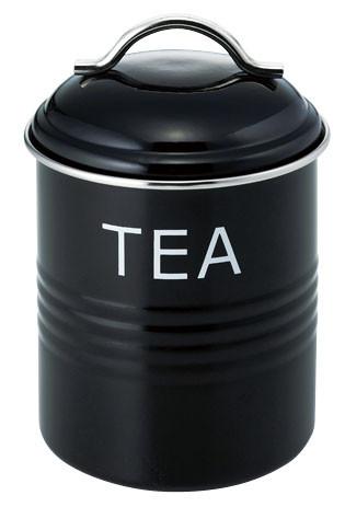 バーネット キャニスター 黒 TEA 10点
