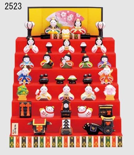<title>女の子の健やかな成長と 末永い幸福を祈って飾る縁起物の雛人形です 錦彩 花かざり雛 七段飾り 日本製 ひな人形 ひな祭り 置き物 飾り物 置物 和モダン 和雑貨 インテリア雑貨 女の子 期間限定特別価格 おしゃれ かわいい 和室 和風 和テイスト 陶製 雛人形 国産</title>