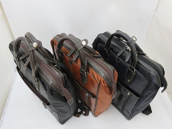 ガマ口タイプなので物の出し入れがしやすい! ダレスビジネスリュック メンズ 大容量 ビジネス カジュアル 鞄 カバン 通学 通勤 ビジネスリュック 旅行 バッグ シンプル おしゃれ