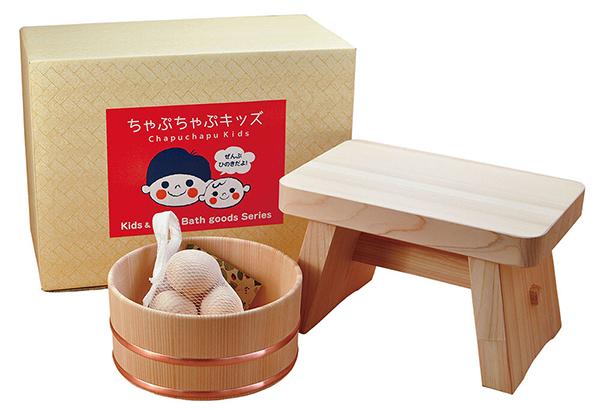 お風呂セット ひのきおふろセット バス雑貨 ギフト 日本製 檜 温泉旅館気分