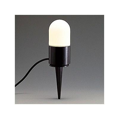 LEDランプ交換型ガーデンライト 防雨型 40W相当 電球色 E26口金 AD-2966-L