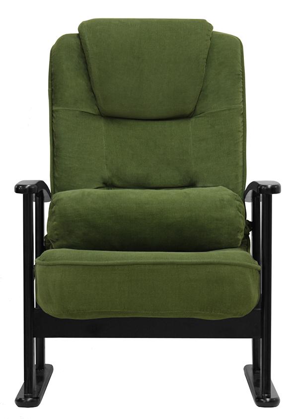 折畳み式 木肘高座椅子 高さ調整 低反発 座椅子 リクライニング座椅子 折りたたみ 折り畳み 和室 リビング ダイニング 居間 父の日 母の日