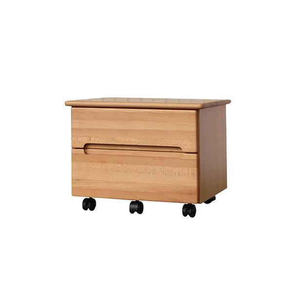 送料無料 プリンターカート ナチュラル プリンターワゴン プリンター台 サイドチェスト サイドワゴン キャスター付き 木製 収納 デスクワゴン オフィス サイドテーブル おしゃれ 北欧 モダン ミッドセンチュリー