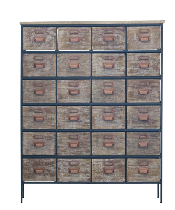 送料無料 ヴィンテージ感 木製チェスト アイアン 大容量 収納 収納棚 寝室 リビング たんす 箪笥 リビングボード サイドボード ハイチェストおしゃれ 西海岸 インダストリアル ブルックリン 男前インテリア