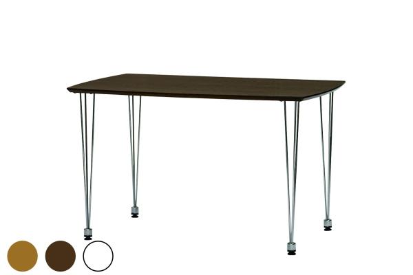 送料無料 ダイニングテーブル 単品 シンプル ナチュラル 4人掛け 4人用 幅120cm 北欧風 おしゃれ カフェ リビング ダイニング 食卓テーブル 机 作業台 コーヒーテーブル