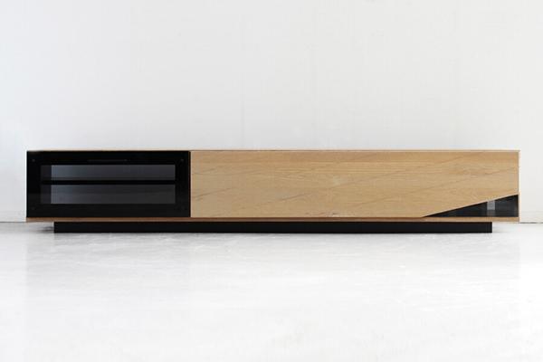 日本製 ローボード 幅180cm ナチュラル アルダー無垢 木製 引き出し 収納 テレビボード リビングボード テレビ台 TVボード AVボード AVラック TV台 テレビラック 北欧 モダン シンプル スタイリッシュ おしゃれ 高級感