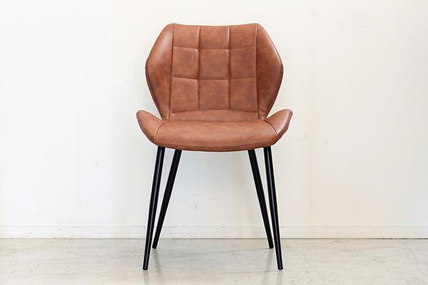 チェア ダイニングチェアー 食卓チェア いす 椅子 合成皮革 コンパクト ミッドセンチュリー シンプルモダン おしゃれ デザイン 高級感