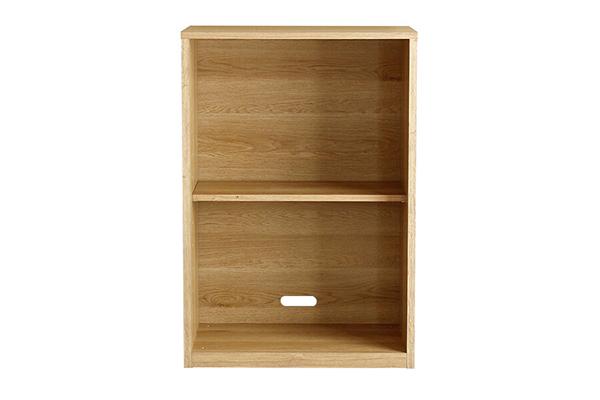オープン2段 ナチュラル 木製 収納棚 木目 カラーボックス リビング収納 キッチン 北欧 おしゃれ モダン 高級感