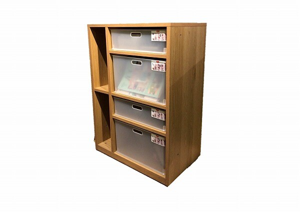 樹脂トレー収納 ナチュラル 木目 木製 収納棚 カラーボックス 本棚 収納ラック 収納ボックス ラック シェルフ 北欧 おしゃれ シンプル