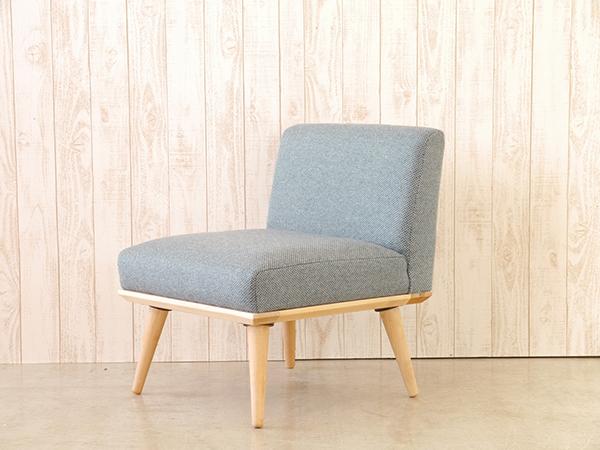 1Pソファ ブルー コンパクト ソファー 1人掛け 1人用 ダイニングソファー リビング ファブリック プリ イス いす 椅子 おしゃれ 北欧 モダン シンプル