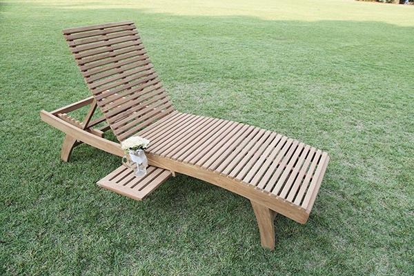 ESラウンジ チェア 木製 チーク ガーデンチェアー 1人掛け いす 椅子 ひとりがけ チェア テラス カフェ おしゃれ モダン レトロ 高級感