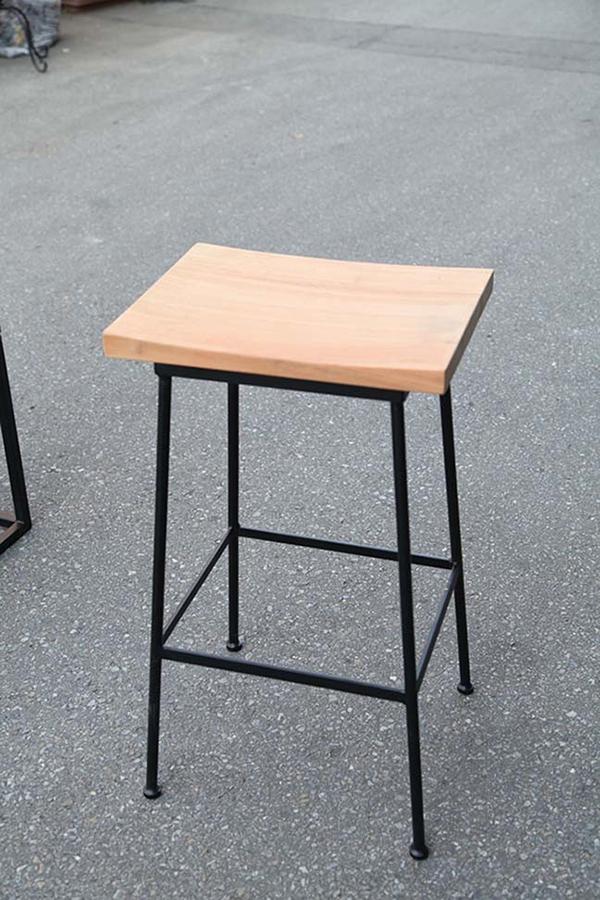 アイアンウッドハイチェア アイアン ガーデンチェアー 1人掛け いす 椅子 ひとりがけ チェア テラス カフェ おしゃれ モダン レトロ 高級感