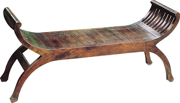 ユーユラブチェア 木製 ベンチ ダイニングチェアー カフェ 食卓椅子 いす イス リビング おしゃれ モダン レトロ アンティーク