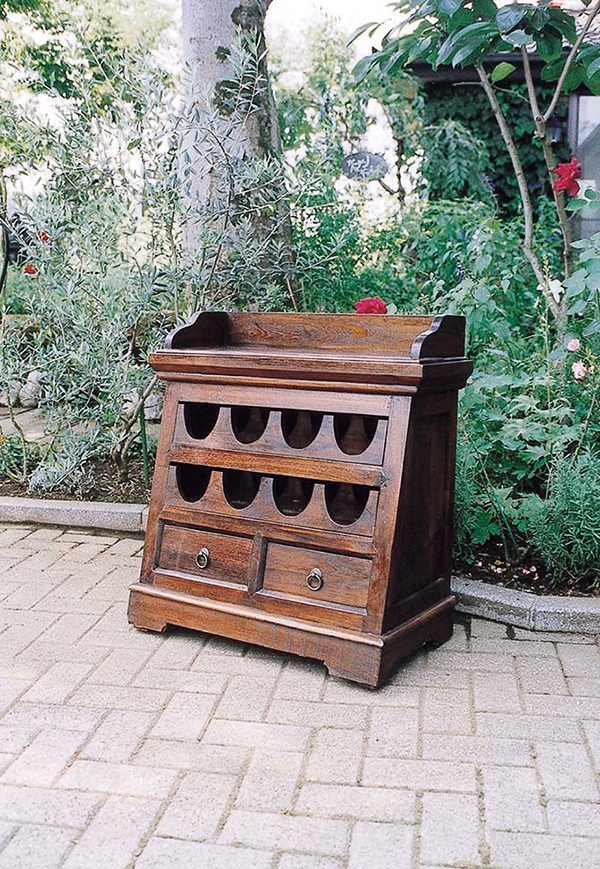 ワインチェスト アンティーク 木製 収納 飾り棚 花台 クラシック 上品 おしゃれ レトロ モダン 高級感