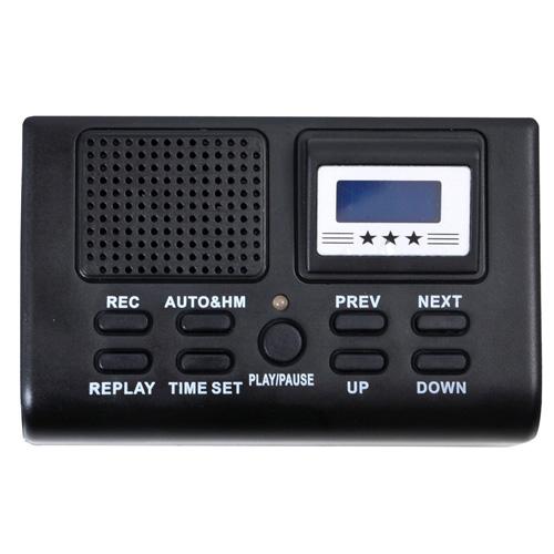 セール サンコー 電話機に後付けできる通話録音再生機 通話自動録音BOX TLPRC38B 全店販売中