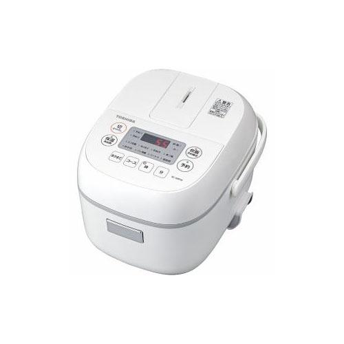 TOSHIBA マイコン炊飯器 3合炊き ホワイト RC-5MFM-W