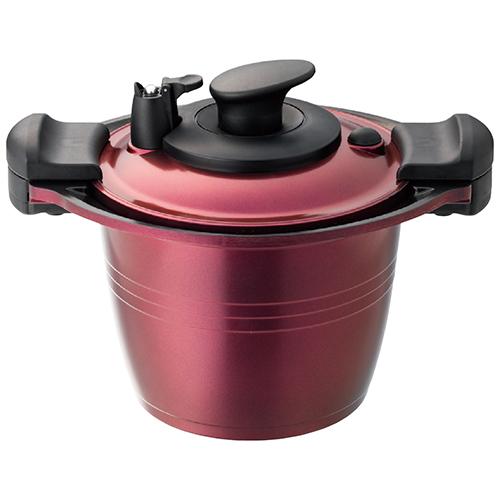 ククナ 低圧多機能鍋20cm 4l 煮・蒸・焼・炒・炊・茹の6つの調理がこれ1台で