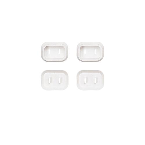 サンワサプライ プラグ安全カバー 激安セール 格安SALEスタート 2P用 TAP-PSC1N 4個入り