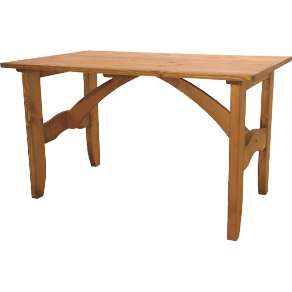 ダイニングテーブル 単品 天然木 木製 おしゃれ 机 つくえ 作業台 食卓テーブル 4人用 4人掛け テーブル 幅120cm モダン 北欧 カントリー ナチュラル