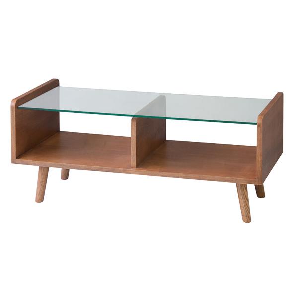 センターテーブル 幅90cm ガラステーブル コレクションテーブル 収納 ローテーブル リビングテーブル コーヒーテーブル カフェテーブル 机 つくえ 作業台 木製 木目 モダン 北欧 西海岸 おしゃれ かわいい