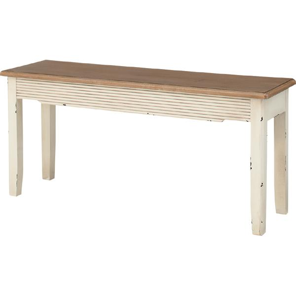 完成品 ダイニングベンチ 幅100cm 2人掛け 食卓椅子 チェアー チェア ダイニングチェアー イス 椅子 木製 二人掛け 2人掛け ベンチチェア 北欧 おしゃれ アンティーク フレンチカントリー クラシック