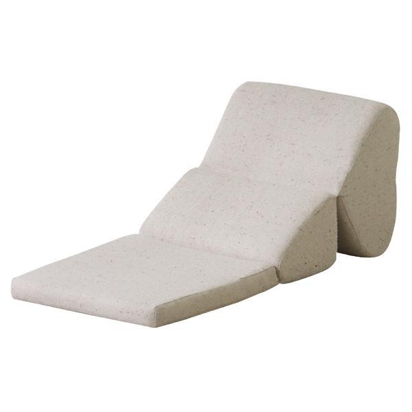テレビ枕 TVマクラ まくら 枕 ごろ寝クッション 座椅子 クッションフロア 座いす コンパクト チェア クッションチェア テレビまくら ごろ寝マット おしゃれ 折りたたみ ローソファ ベージュ