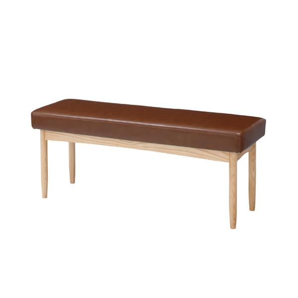 ダイニングベンチ 合皮 幅110cm 2人掛け 食卓椅子 チェアー チェア ダイニングチェアー イス 椅子 木製 二人掛け 2人掛け ベンチチェア 北欧 おしゃれ アンティーク