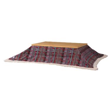 送料無料 こたつ布団 単品 190×230cm 長方形 レッド 薄掛けこたつ掛け布団 コタツフトン こたつ掛布団 こたつふとん 炬燵布団 こたつ 掛布団 掛け布団 あったか コンパクト おしゃれ かわいい デザイン