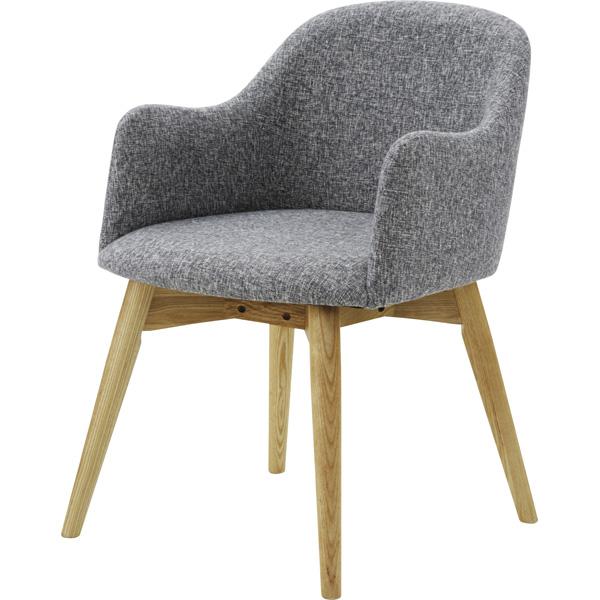 ダイニングチェア 天然木 木製 食卓チェアー 食卓椅子 いす イス 椅子 ダイニングチェアー ファブリック レトロ モダン 北欧 ブルックリン 西海岸 男前 インテリア おしゃれ シンプル アンティーク カントリー かわいい 高級感 グレイ