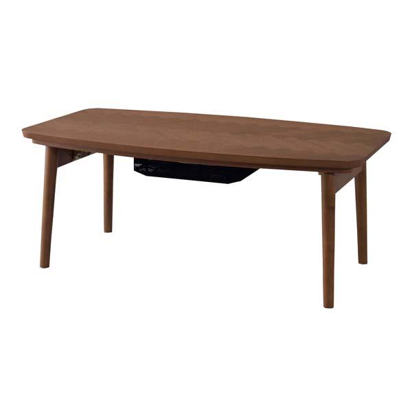 送料無料 こたつ テーブル 90×50cm 長方形 北欧 折れ脚 折り畳み 折りたたみ コタツ こたつテーブル 炬燵 ローテーブル センターテーブル リビングテール カフェ 木製 天然木 オーク コンパクト おしゃれ かわいい デザイン