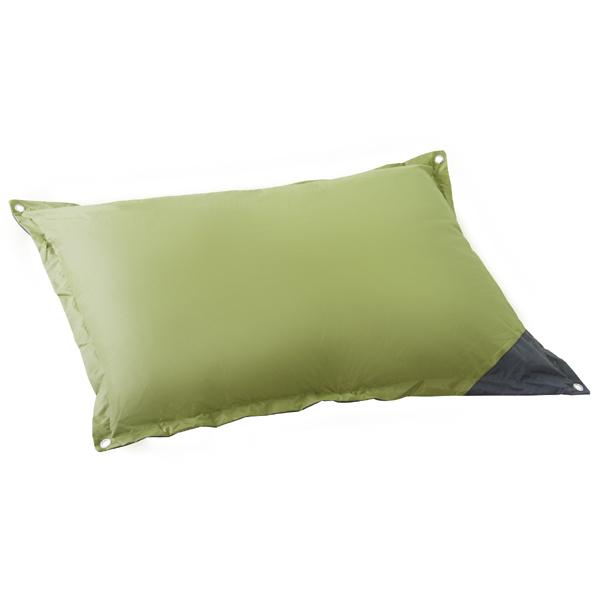 ビッグクッション クッション 大きい フロアクッション ジャンボ 120×100cm 簡易ベッド 特大 かわいい おしゃれ 北欧 グリーン