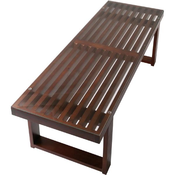センターテーブル 幅115cm 木製 天然木 ローテーブル リビングテーブル コーヒーテーブル カフェテーブル 机 つくえ 作業台 モダン 北欧 ブルックリン 西海岸 男前 インテリア おしゃれ アンティーク ブラウン
