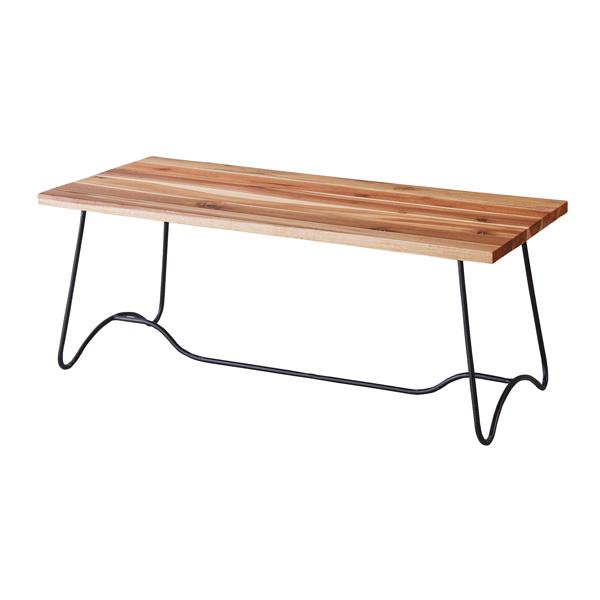 コーヒーテーブル カフェテーブル 幅100cm アイアン 木製 ローテーブル センターテーブル リビングテーブル 座卓 おしゃれ アジアンリゾート 北欧 モダン レトロ 一人暮らし ナチュラル